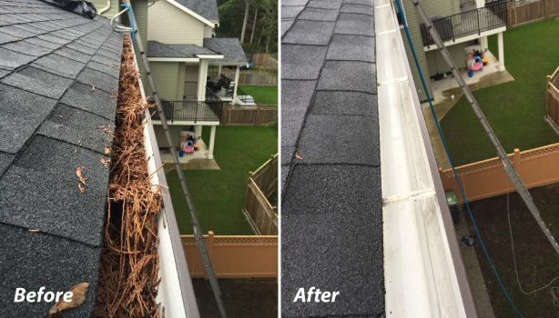before after gutters 1